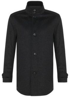 Hugo Boss Camlow Wool Cashmere Straight Coat 36R Charcoal Mens Wool Coats, Hugo Boss, Chef Jackets, Charcoal, Cashmere, Stylish, Sweaters, Tops, Fashion