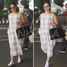 Kareena Kapoor Khan has rocked her pregnancy style and baby bump like a boss, check out some of her best looks from over the months. Indian Maternity Wear, Cute Maternity Dresses, Stylish Maternity, Maternity Fashion, Maternity Maxi, Maternity Pictures, Pregnancy Outfits, Pregnancy Style, Pregnancy Wear