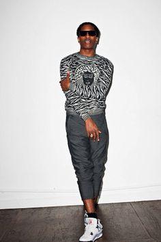 66eacd7509218 A AP Rocky All Black Fashion, Purple Fashion, Autumn Fashion, Style Icons