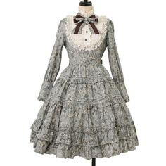 ♡ Innocent World ♡ Antique doll dress アンティークドールドレス http://www.wunderwelt.jp/products/detail8133.html ☆・。 。・゜☆How to buy☆・。 。・゜☆ http://www.wunderwelt.jp/user_data/shoppingguide-eng ☆・。 。・☆ Japanese Vintage Lolita clothing shop Wunderwelt  ☆・。 。・☆ #classiclolita