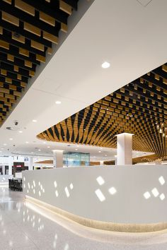 MMO Interiors Riverside Food Court Interior Brisbane Australia