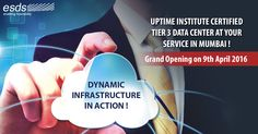 On #9thApril the curtain will be raised to the most dynamic #Datacenter in Mumbai.