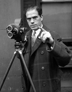 Movie director Frank Capra, Dec. 29, 1931. Capra was one of America's most powerful movie directors in the 1930s, and successful for decades afterwards. A few of his most famous films include: