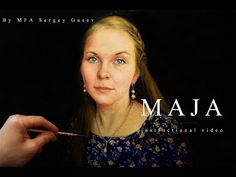 Portrait painting | tutorial for beginners. - YouTube