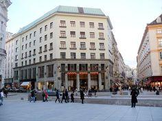 1910 Adolf Loos, Michaelerplatz, maison sans sourcils, Vienne