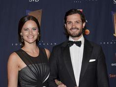 Sofia Hellqvist attend Annual Sport Ceremony with her fiance Prince Carl.Philip of Sweden