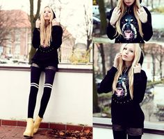 Everything is going to be okay. (by Lina Tesch) http://lookbook.nu/look/4289005-everything-is-going-to-be-okay