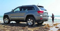 Grand Cherokee Overland Summit at South Padre Island