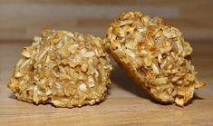 Ovesné dietní müsli sušenky s jablkem Krispie Treats, Rice Krispies, Muesli, Muffin, Food And Drink, Vegan, Breakfast, Desserts, Fitness