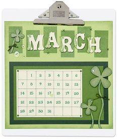 March calendar idea from #CTMH.