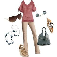 work wear...I would keep neutral accessories in warm colors or gold
