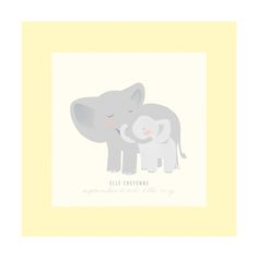A Mother's Love - Elephants Custom Art Prints by Lori Wemple | Minted