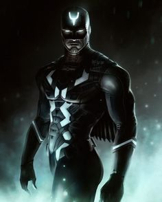 I don't usually go for modern comic art renditions of classic superhero characters, but this one's pretty damn cool!