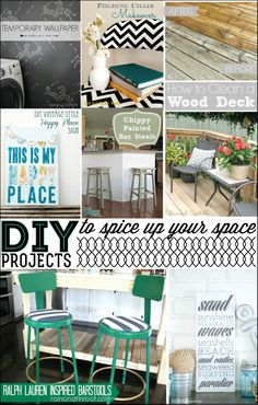 DIY projects featured on 30days