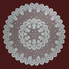 Your place to buy and sell all things handmade Fabric Stiffener, Lace Weave, Bobbin Lace Patterns, Lace Making, Cloth Napkins, Pattern Paper, Drinking Tea, Doilies, Arts And Crafts