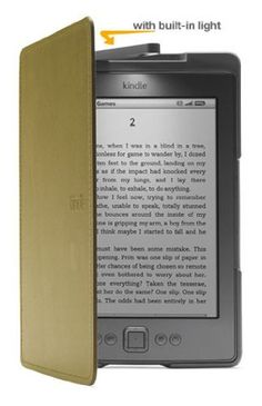 Amazon Kindle Lighted Leather Cover, Olive Green by Amazon, http://www.amazon.com/dp/B004SD229M/ref=cm_sw_r_pi_dp_QfrFpb1SFMGCC