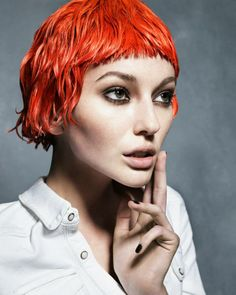 No limits chemical free temporary colour stain orange