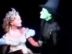 Kristin Chenoweth Idina Menzel - Kristin's last performance For Good - YouTube