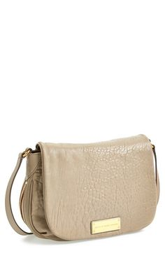 c3a1bea7b848 Marc by Marc Jacobs Cement Washed Up Nash Lambskin Crossbody Bag - Sale
