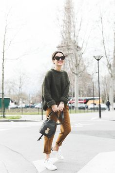 oversize sweater and autumn colours :)