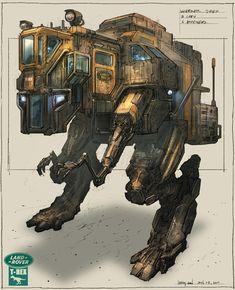 Concept Robots - A fantasy robot concept art blog | conceptrobots.blogspot.com