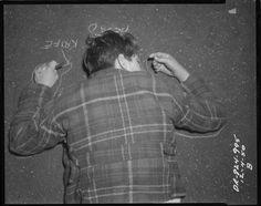 Escenas del crimen de los años 30: el arte de la fotografía policial