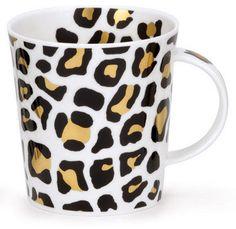 diy leopard mug @Jenny Apiag make me this !