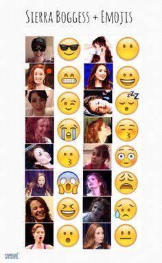 aww i love her Sierra Boggess + Emojis