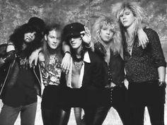 GNR Steven Adler Slash Izzy Stradlin Axl Rose Duff McKagan