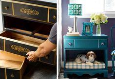Zseniális ötletek régi bútorok átalakítására második oldal
