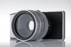 Camera concept utilising a smartphone as the body. #camera #smartphone
