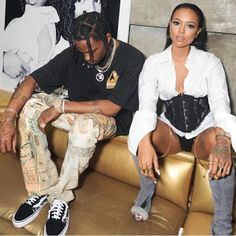 Wait Karrueche is now dating Rihanna's ex Travis Scott?   Whatsapp / Call 2349034421467 or 2348063807769 For Lovablevibes Music Promotion   C'mon now these two women can't be dating same men nah! Chris Browns ex-girlfriend Karrueche is rumoured to be dating Travis Scott who until a few months ago was dating Rihanna. The two were spotted at a Vera Wang event at NYC and were reported to be into each other and making out when they didn't know anyone was looking... you believe this?  Amebo…