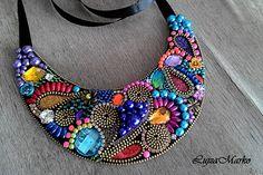 Náhrdelníky - Fantasy colors náhrdelník - 7289753_