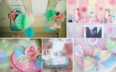 Shabby Chic Baby Shower and Christening Ideas