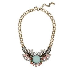 Sunwashed Aqua Crystal compilation necklace - necklaces - Women's jewelry - J.Crew