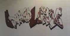 Graffiti sign