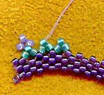 Free Freeform Peyote Bracelet Tutorial