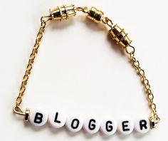 4+ Bead Alphabet Bracelet on Etsy, $14.00