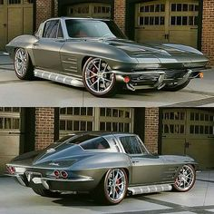 63 split window Corvette packing a LS3 and pushing 500hp. to a Tremec 5sp.