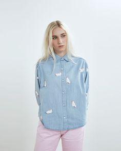 Lazy Oaf Pom Pom Bunny Shirt