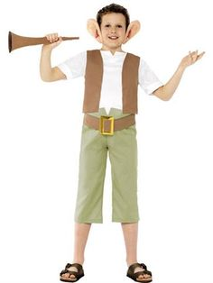 Love The BFG? This BFG costume is a fun outfit for Roald Dahl Day or World Book Day. Pick it up now from partydelights.co.uk.