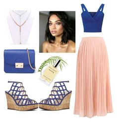 """""""tropical relax vacations"""" by elialva ❤ liked on Polyvore featuring Miss Selfridge, Nine West, Dunn and Packandgo"""