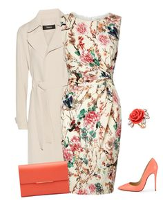 """""""outfit 3324"""" by natalyag ❤ liked on Polyvore featuring Theory, Lipsy, Christian Louboutin, Mawi, women's clothing, women, female, woman, misses and juniors"""