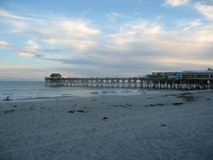 My beloved Cocoa Beach, FL... where I was truly on my own for the first time, climbing the stairs of a tiny beachfront apartment and studying NASA manuals with my feet in the Atlantic.