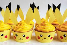 Pokemon birthday party ideas to help you plan an awesome, easy and affordable kids party. Find ideas for decorations, cupcakes, invitations, games and more!
