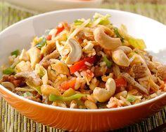 Chinese vleesreepjes met Sweet & Sour groenten