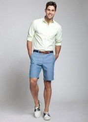 Simple and cool boat shoes outfit for mens 16