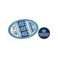 North Carolina Tar Heels Game Day Decal Set, Multicolor