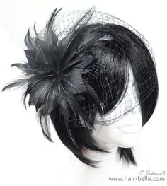 Hair Accessories-Feather Fascinator $19.99