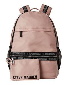 68325846a60 Steve Madden Blush Bjoss Backpack Pvc Trim, Steve Madden Bags, School  Backpacks, Cute